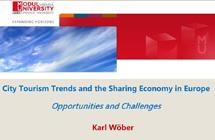 欧洲城市旅游趋势与共享经济下的机遇与挑战