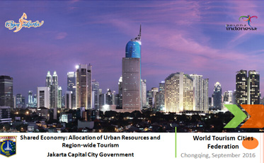 Shared Economy: Allocation of Urban Resources and Region-wide Tourism Jakarta Capital City   Government