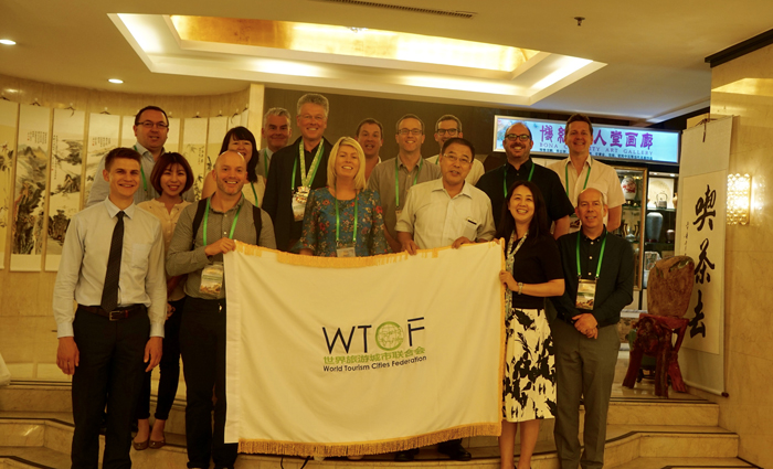 """世界旅游城市联合会与爱丁堡旅游行动小组共同举办 """"中国市场精英学习之旅"""""""