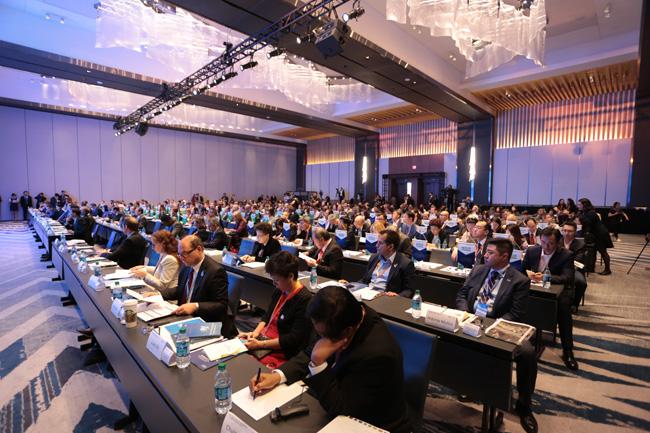 2017世界旅游城市联合会洛杉矶香山旅游峰会开幕式现场