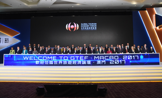 Many prominent guests gather at the Opening Ceremony of GTEF • Macao 2017