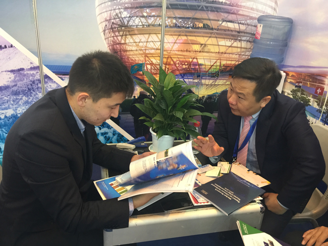 The China International Travel Mart 2017 Held in Kunming, WTCF Joins to Exhibit and Communicate with Its Members