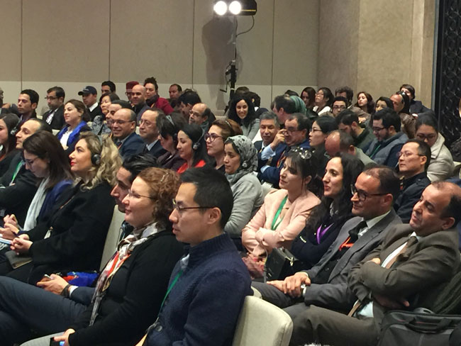 Moroccan and African travel companies attend the event