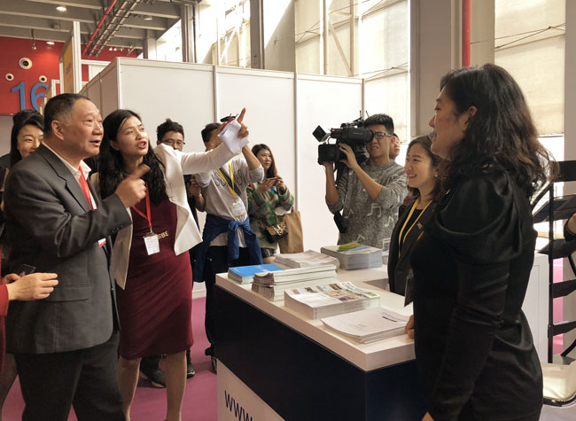 The 2018 Guangzhou International Travel Fair Kicks off, WTCF Joins the Trade Fair and Actively Promotes Tourism Resources of Its Members