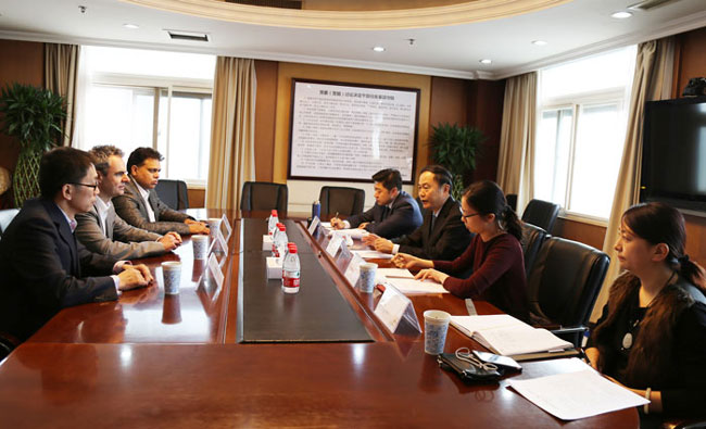 WTCF Secretary-General Song Yu Meets with Representatives of the BBC