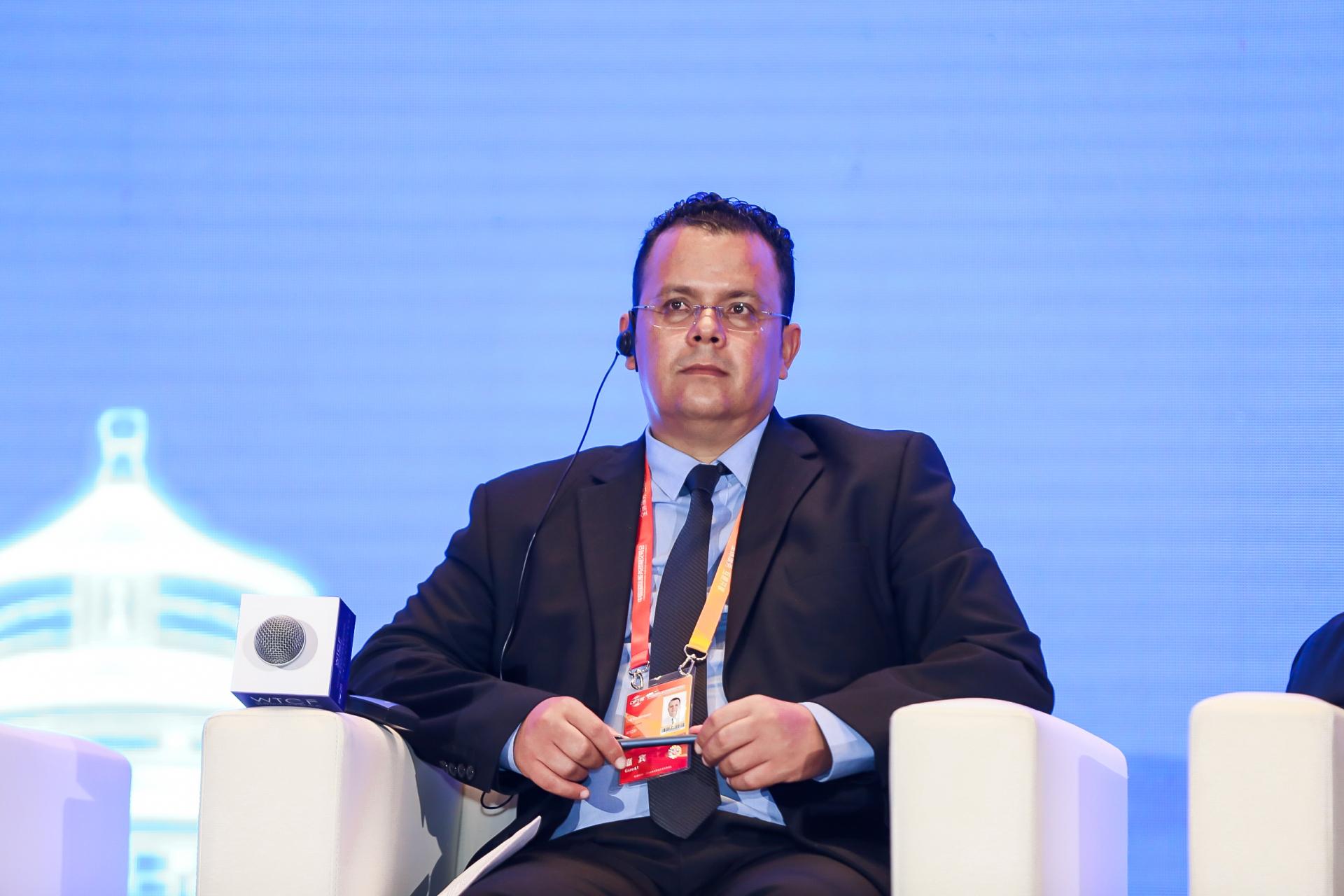 Anouar Chetoui, Chief Rept. of Tunisian National Tourist Office Beijing