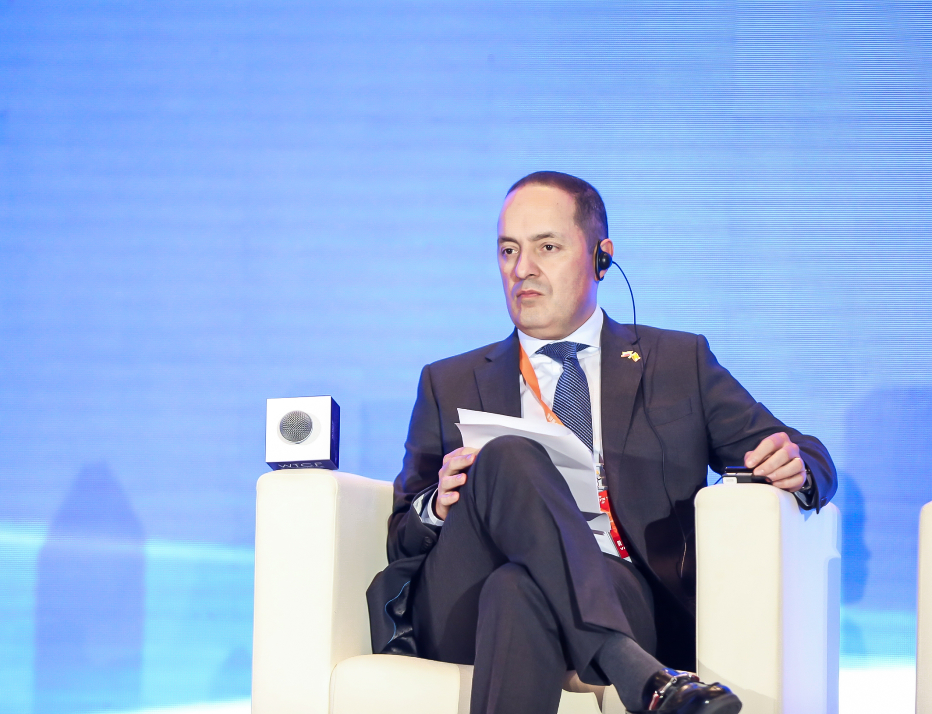 Luis Diego Monsalve, Ambassador of the Republic of Colombia to China